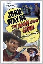 20x30 Poster John Wayne  The Man from Utah 1934 #JWMU
