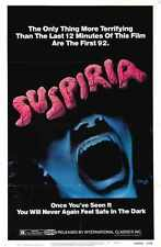 Suspiria Poster 01 Metal Sign A4 12x8 AluMinium