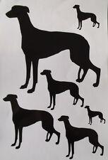 Greyhound vinyl stickers, decals, for car, window