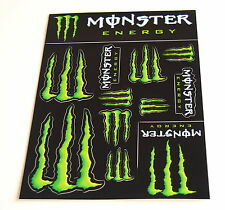 Monster Energy Drinks Logo Sheet of 12 Stickers Decals