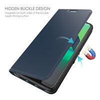 For Motorola Moto G8 Plus E6 Plus Z4 Play G7 PU Leather Wallet Flip Case Cover