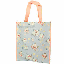 Floral Jennifer Rose Reusable Shopping Bag 40cm Handled Tote Grocery Eco SHOPPER