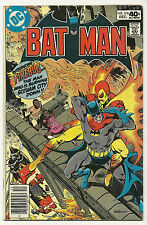 Batman 1977 #318 Fine 1st Firebug