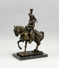 Chevalier En Bronze Chevalier A Cheval MILO 9937755-dss Neuf