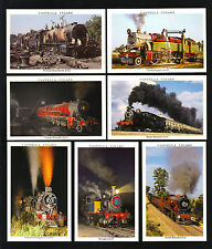 CIGARETTE CARDS. Castella Cigars. IN SEARCH OF STEAM.(1992).(Complete Set of 30)