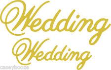 Cheery Lynn Designs Die ~ Wedding ~ B446 ~ Sentiments ~ New Out