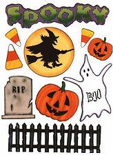 Halloween Spooky Scrapbook Die Cuts Quick Cropper Cuts Outdoors & More NEW