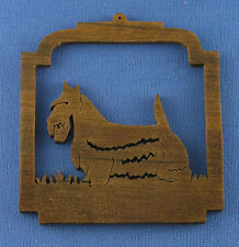 Scottish Terrier Christmas Ornament - hand cut