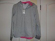 NWT  $110.00 .Ralph Lauren Sport women's gray pink jacket hoodie..Sz Lg..NEW