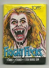Fright Flicks Trading Cards - Fright Night Wrapper (Topps, 1988) Wax Pack