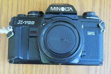 Minolta Black X-700 MPS 35mm SLR Camera Body for Parts or Repair