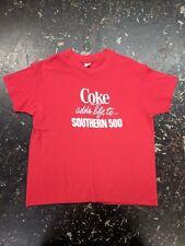 Vintage Coke southern 500 t-shirt soft