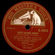 Garland Wilson-Piano-Sweet Georgia Brown/just you... GOMME LAQUE PLAQUE x3494