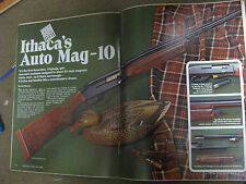 SHOOTING TIMES TESTS RUGER #3 RIFLE IN 22 HORNET, Mag 10, Rem 3200 & 788 & IJ si