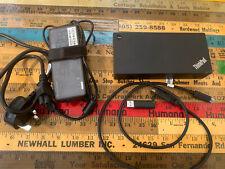 Lenovo THINKPAD Usb-C Dock 40A9 with USB3.0 +90W Power Supply