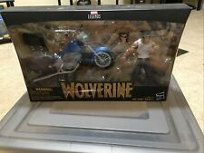 Wolverine Marvel Legends Motorcycle set hasbro