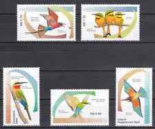 NAMIBIA - 2015 - Bee Eaters of Namibia. Complete set, 5v. Mint NH