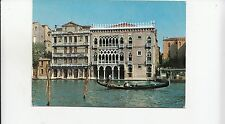 Bf23204 venezia canal grande ca d oro italy front/back image
