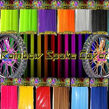 Speichen Spoke cover Spoke style Ribbs Speichen Orange Original Rainbow 72 Stck!