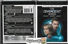 Divergent 3-Movie 4K Ultra Hd Collection Set Insurgent Allegiant ✔☆New/Sealed☆✔