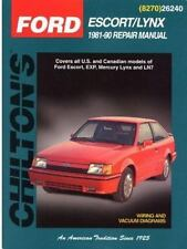 Ford Escort and Lynx, 1981-90 (Chilton's Total Car Care Repair Manuals-ExLibrary