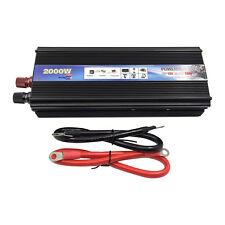 2000w Car Power Inverter DC 12V To AC 110V Modified Sine Wave Inverter Converter