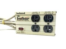 Tripp Lite Isobar Ultra 4 Outlet Diagnostic Surge Suppressor Protector