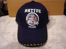 WOLF DREAMCATCHER NATIVE PRIDE #6 BASEBALL CAP HAT ( DARK BLUE )