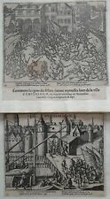 Amsterdam 1577 Baudart 2 prenten
