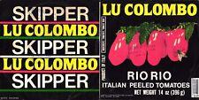 DISCO 45 GIRI     LU COLOMBO – SKIPPER // RIO RIO