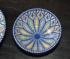 Schale Blau Braun Orientalisches Muster Müsli Schälchen Servierschälchen Ø 15