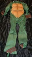 Teenage Mutant Ninja Turtles W/Shell Halloween Costume Fits Kids Size 8-9-10