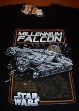 VINTAGE STYLE STAR WARS MILLENNIUM FALCON T-Shirt XL NEW w/ TAG