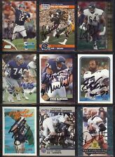 ANDY HECK Chicago Bears - Notre Dame - 1994 SP SIGNED / AUTOGRAPH Football Card