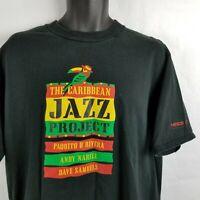 Vintage Caribbean Jazz Project Latin Band Jamaican T Shirt XL
