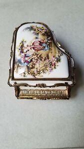 Porcelain Piano music box ~~Beautiful
