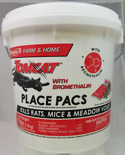 Tomcat Place Pads Kills Mice, Rats, and Meadow Voles Contains Bromethalin