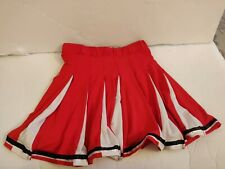 Cheerleader Skirt (Red and White) Size Small