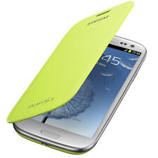 ORIGINALE Samsung FLIP Case Galaxy S 3 III GT i9300 Originale SMARTPHONE BOOK COVER