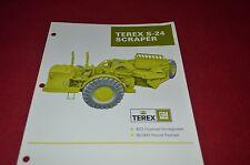 Terex S-24 Scraper Pan Dealer's Brochure DCPA6