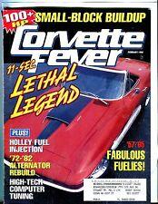 Corvette Fever Magazine February 1996 Holley Fuel VGEX w/ML 042517nonjhe