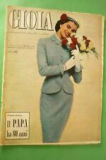 Joy 1956 Mode Villa-Gasbarri + Pape Pio XII + Famille Savoy + Chinese Theatre