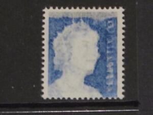 AUSTRALIA 1966 QE II 5c BLUE MINT  STRONG  OFFSET MNH