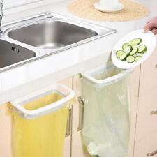Kitchen Garbage Bags Storage Rack Trash Bag Holder Hanging Stand Towel Rack