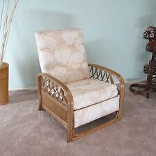 Made in USA Newton Rattan Recliner (Honey finish) 2-PACK