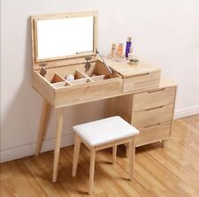 Make Up Dressing Table - Oak Look & Nordic Inspired