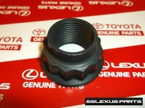 Genuine Lexus Axle Nut 90080-17238