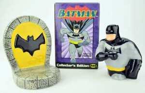 Batman Salt and Pepper  / Salz und Pfeffer Streuer Collector's Edition Clay Art