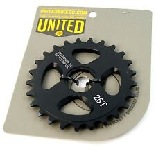 United Machinez Sprocket Spline With Adapters Drive 25t Black Corey Martinez