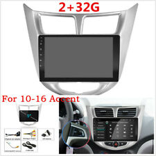 "9"" Quad-Core 2+32G Autos GPS Wifi 3G 4G Mirror Link For 2010-2016 Hyundai Accent"